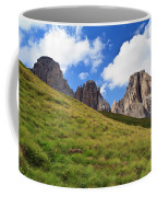 Dolomites On Summer Coffee Mug