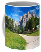 Dolomiti - Gardecia With Catinaccio Mount Coffee Mug