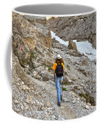 Dolomiti - Hiker In Val Setus Coffee Mug