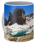Dolomiti - Pisciadu Lake Coffee Mug