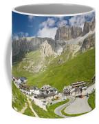 Dolomiti - Pordoi Pass Coffee Mug