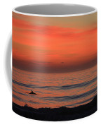Dolphin At Cape Hatteras Coffee Mug
