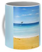 Dolphin Beach Coffee Mug