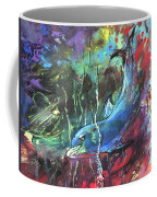 Dolphin Dives Coffee Mug