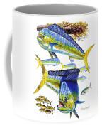 Dolphin In Weedline Coffee Mug