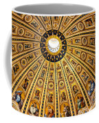 Dome Of St Peter's Basilica Vatican City Italy Coffee Mug