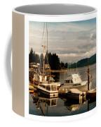 Domino At Alderbrook On Hood Canal Coffee Mug