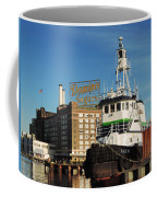 Domino Sugars Baltimore With A Boat Coffee Mug