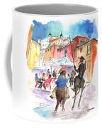 Don Quijote And Sancho Panza Entering Toledo Coffee Mug