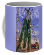Done Shrimping At Tybee Island Coffee Mug