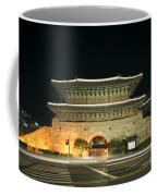 Dongdaemun Gate Landmark In Seoul South Korea Coffee Mug