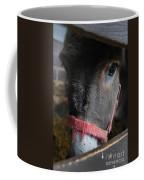Donkey Behind Fence Coffee Mug
