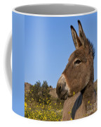 Donkey In Greece Coffee Mug