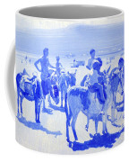 Donkey's On The Beach Coffee Mug