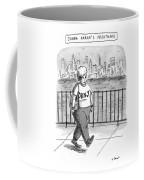 Donna Karan's Nightmare Coffee Mug
