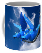 Donna's 1st Blue Bird Flight Coffee Mug