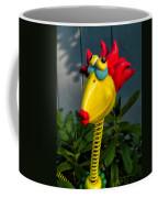 Donna's Bird Says Kiss Me Coffee Mug