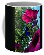 Donna's Blooming Petunias Coffee Mug