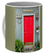 Donna's Red Friendship Door Coffee Mug