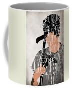 Donnie Darko Minimalist Typography Artwork Coffee Mug