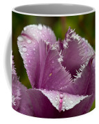 Dont Call Me A Monster Just Because I Have Teeth Purple Tulip Coffee Mug