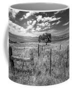 Don't Fence Me In - Black And White Coffee Mug