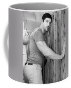 Dont Fence Me In Bw Coffee Mug by William Dey