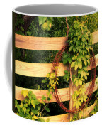 Don't Fence Me In Coffee Mug by Cricket Hackmann