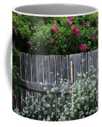 Don't Fence Me In - Wild Roses - Old Fence Coffee Mug