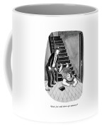 Don't Just Stand There - Get Witnesses! Coffee Mug by Sydney Hoff