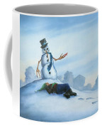 Dont Fuck With Frosty For He Can Really Ruin That Holiday Spirit Coffee Mug