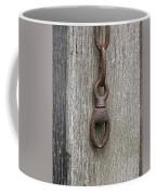 Door Chain In Color Coffee Mug
