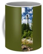 Door County Cana Island Vertical Panorama Coffee Mug