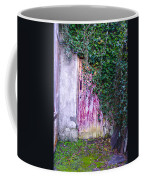 Door Covered In Ivy Coffee Mug