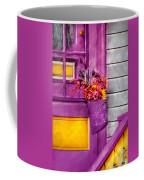 Door - Lavender Coffee Mug by Mike Savad