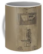Door Lock Patent Coffee Mug