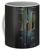 Door Peeking Coffee Mug by Carlos Caetano