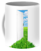 Door To New World. Version 2 Coffee Mug
