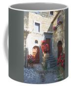 Doors In Bagnoregio Coffee Mug