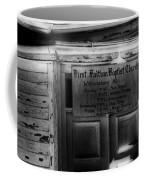Doors Of Worship Coffee Mug