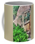Door, Santuario De Chimayo Coffee Mug