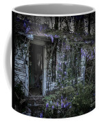 Doorway And Flowers Two Coffee Mug