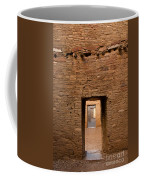 Doorways In Pueblo Bonito Coffee Mug
