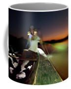 Dorian Simon Paddles A Large Wooden Coffee Mug