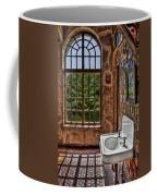 Dorm Bathroom Side View Coffee Mug