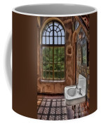 Dormer And Bathroom Coffee Mug by Susan Candelario