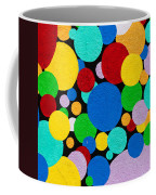 Dot Graffiti Coffee Mug by Art Block Collections