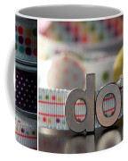 Dotty Diptych Coffee Mug