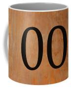 Double 0 Coffee Mug