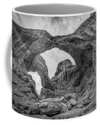 Double Arches Bw Coffee Mug